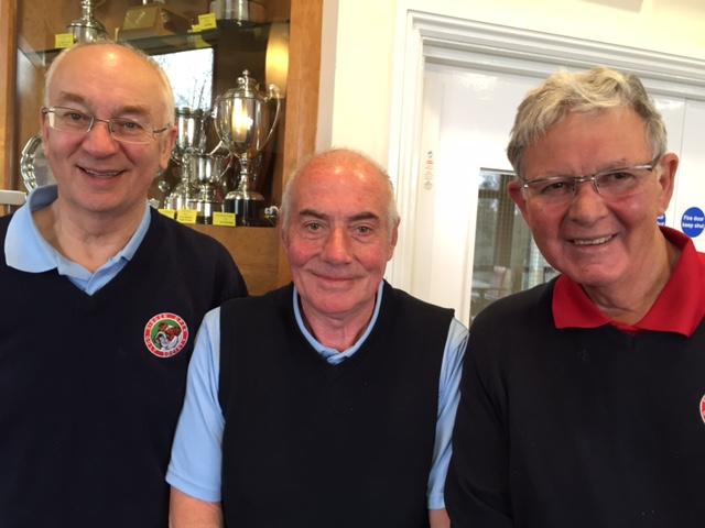 Waltz winners, Brian Cox, Ian Cameron & Clive Ellis