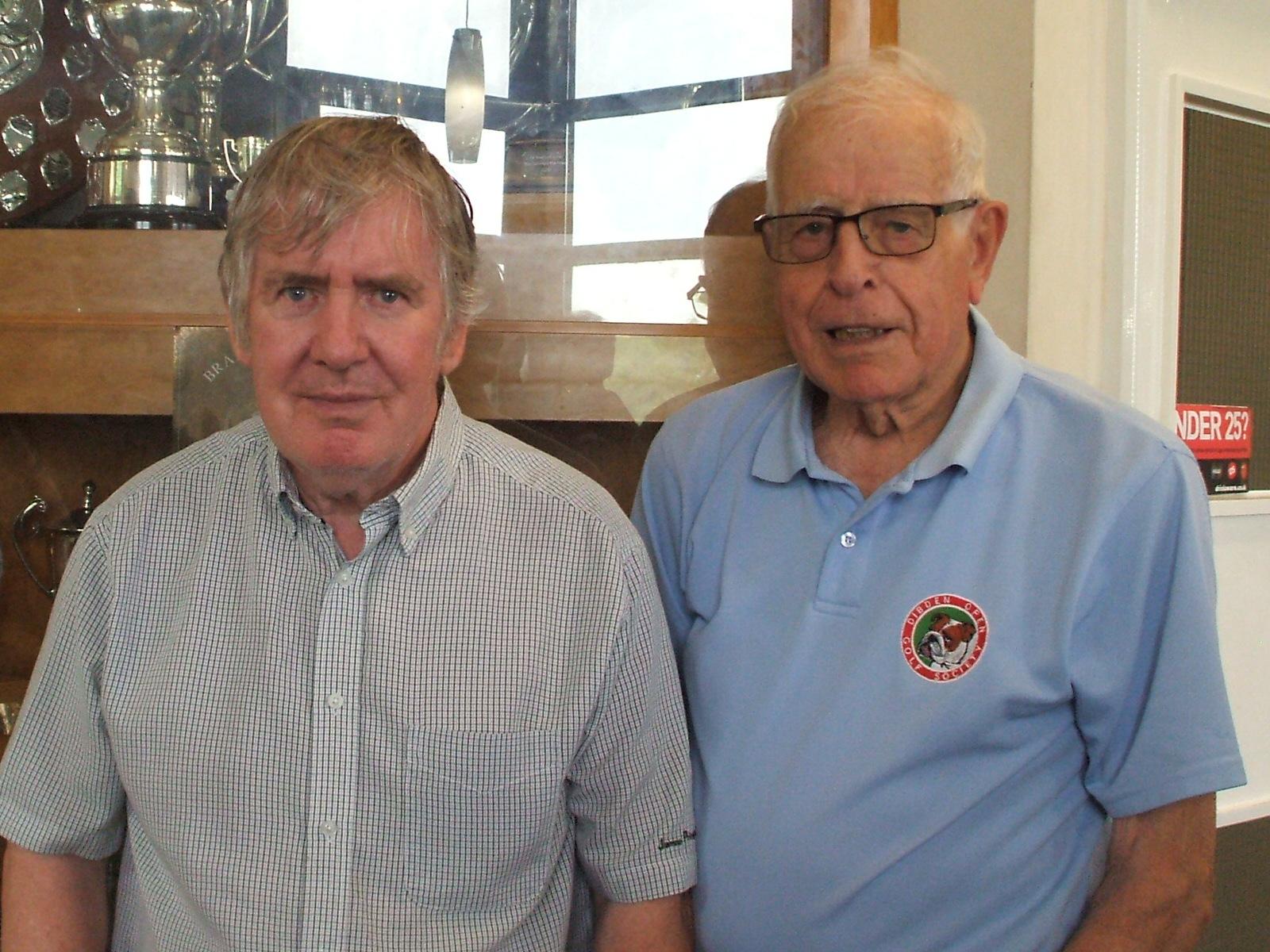 23 April: Winners L to R: Gordon Richardson; Gerry Long