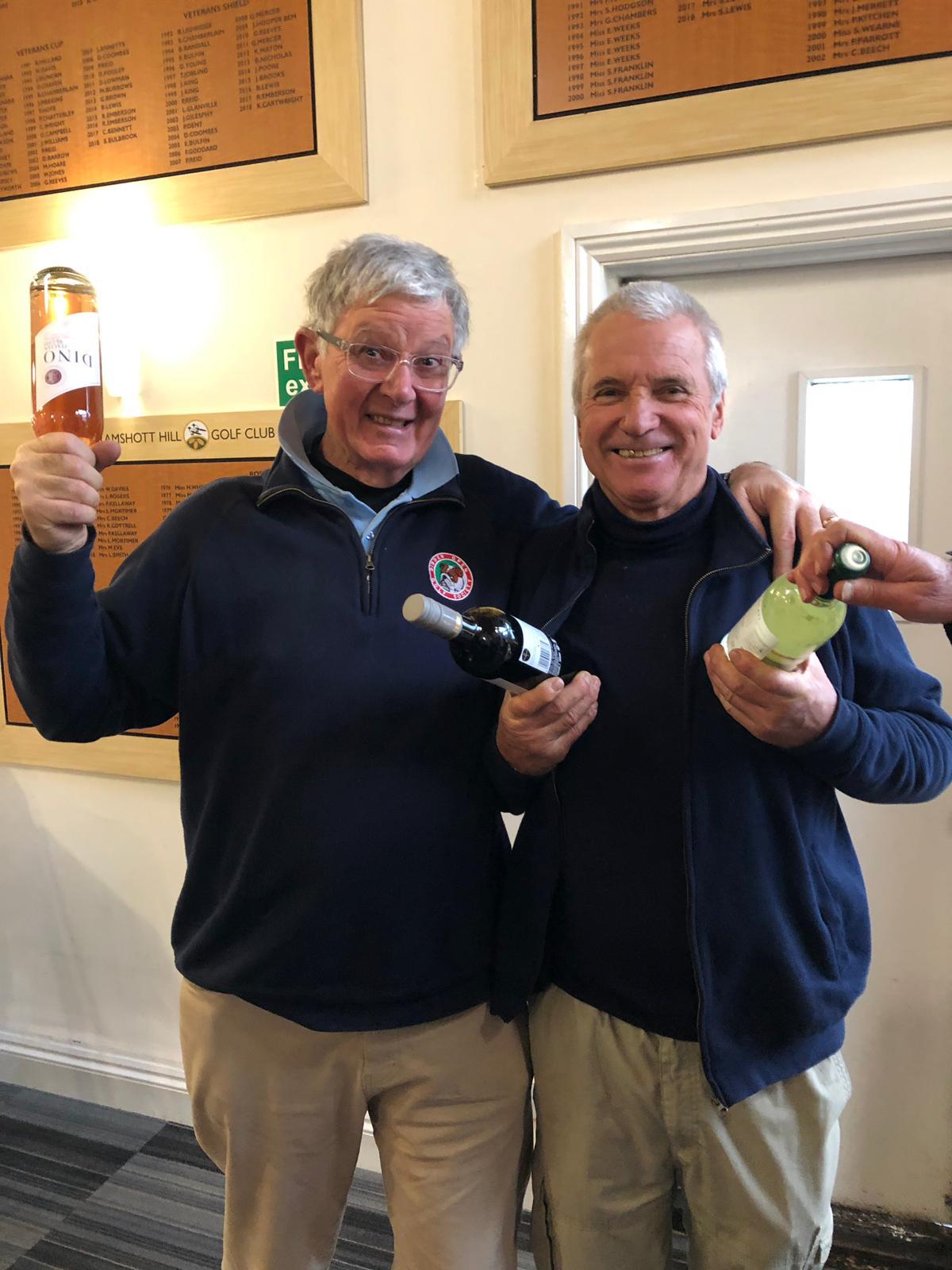 22 Jan.  Wine Winners: Clive Ellis; D Lowman.