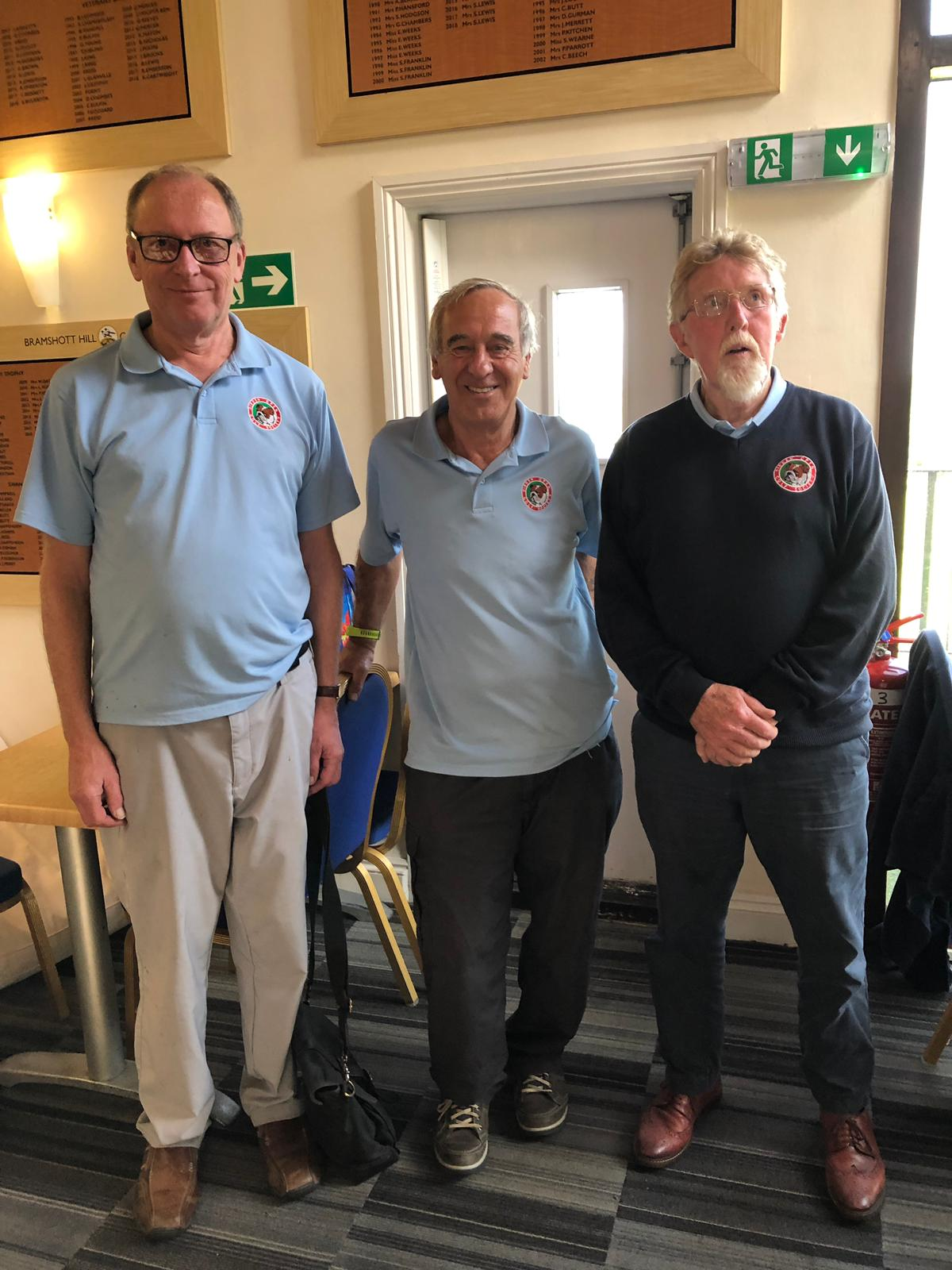 1 Oct:  Stableford-winners-L-to-R-1st-A-Turnpenny-2nd-J-Crumpler-3rd-P-Huxley